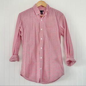 GAP Men's Slim Fit Long Sleeve Button Down XS